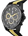 U.S. Polo Assn. Canvas Strap Chronograph Watch