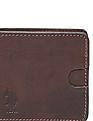 U.S. Polo Assn. Red Textured Leather Wallet