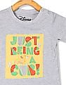 Colt Grey Boys Disney Character Graphic Crew Neck T-Shirt