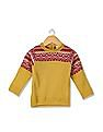 Donuts Girls Patterned Knit Sweater