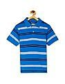 The Children's Place Boys Short Sleeve Striped Jersey Polo