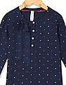 U.S. Polo Assn. Kids Girls Star Print Woven Top