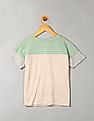 GAP Girls Sequin Graphic Colour Block Tee