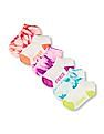 The Children's Place Girls Place Sport Tie-Dye Ankle Socks 6-Pack