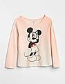 GAP Baby Disney Mickey Mouse and Minnie Mouse Interactive Graphic T-Shirt