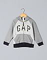 GAP Baby Embroidered Brand Logo Hooded Sweatshirt